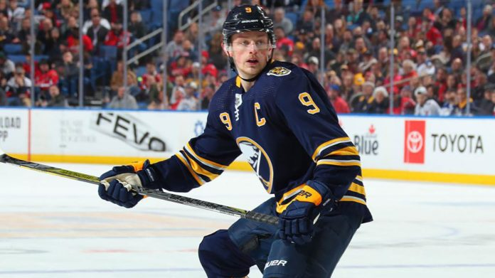 Will Jack Eichel be a Buffalo Sabre next season? The LA Kings and New York Rangers are interested in Eichel.
