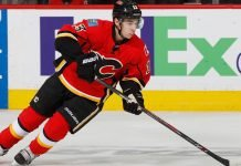 The Calgary Flames will be looking to make some off-season moves. One player that could be on his way out is Johnny Gaudreau.