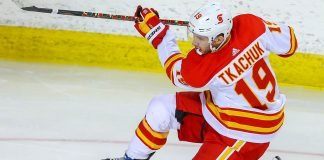 Will the New York Rangers make a trade for Calgary Flames forward Matthew Tkachuk? They will have to trade Kakko or Lafreniere for a trade to happen.