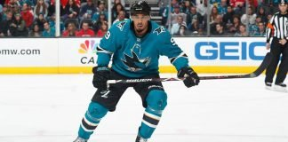 The Toronto Maple Leafs need to add some grit to their lineup. Will the Leafs target San Jose Sharks forward Evander Kane?