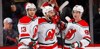 The New Jersey Devils are looking to trade the 4th overall draft pick this year for a good young defenceman.