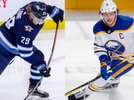 The Golden Knights will be looking to add an elite scorer this off-season. Will they target Jack Eichel or Patrik Laine?