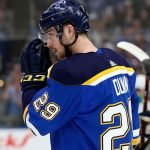 NHL trade rumors have the St. Louis Blues looking to trade Vince Dunn this off-season to avoid losing him to the Seattle Kraken at the expansion draft