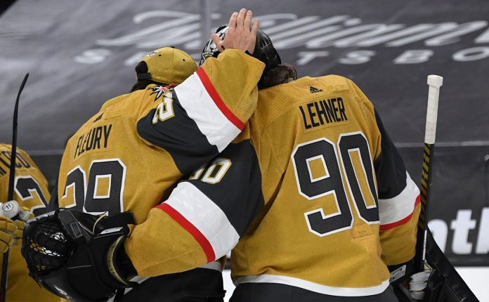 The Vegas Golden Knights will have to trade Marc-Andre Fleury or Robin Lehner this offseason? Which goalie gets traded?