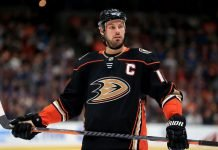 NHL trade rumors are starting to float around that Ryan Getzlaf might test free agency. The Bruins, Stars, Canadiens and Oilers have interest.