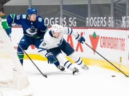 Zach Hyman will hit free agency. NHL rumors have the Calgary Flames, Edmonton Oilers, Vancouver Canucks as the frontrunners to sign him.