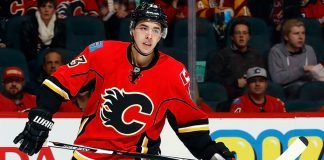 If Johnny Gaudreau does not re-sign a contract extension with the Flames, they will look to trade him. The Flyers, Devils, Blues all have interest.