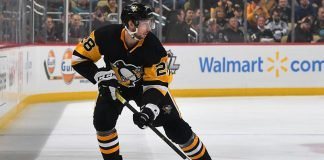The Pittsburgh Penguins are looking to trade Marcus Pettersson. It will likely be a salary dump trade with the Pens receiving no return.