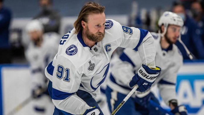 Will the Tampa Bay Lightning ask Steven Stamkos to waive his full-movement clause to facilitate a trade?