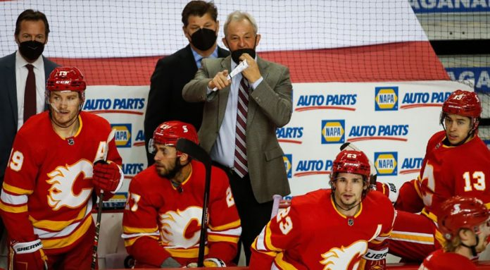 If the Calgary Flames struggle the first half of the season one of Johnny Gaudreau, Matthew Tkachuk or Sean Monahan will be traded.