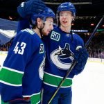 Can the Vancouver Canucks get Elias Pettersson and Quinn Hughes to sign bridge deals? Does Pettersson receive an offer sheet?
