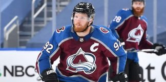 Colorado Avalanche captainGabriel Landeskoghas been suspended two games for boarding Chicago Blackhawks forwardKirby Dach.