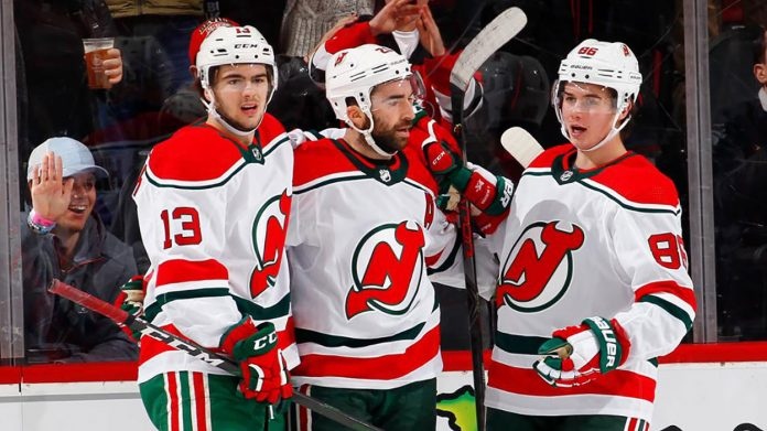 The New Jersey Devils will be looking to contend for a playoff spot and will seek offensive help if they are in playoff contention.
